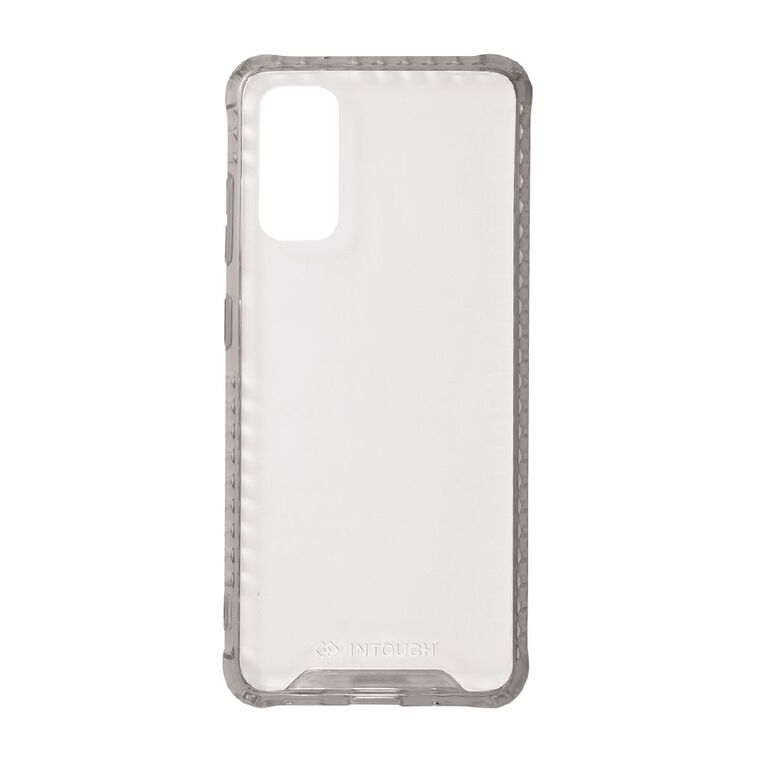 INTOUCH Samsung S20 Vanguard Drop Protection Case Clear, , hi-res