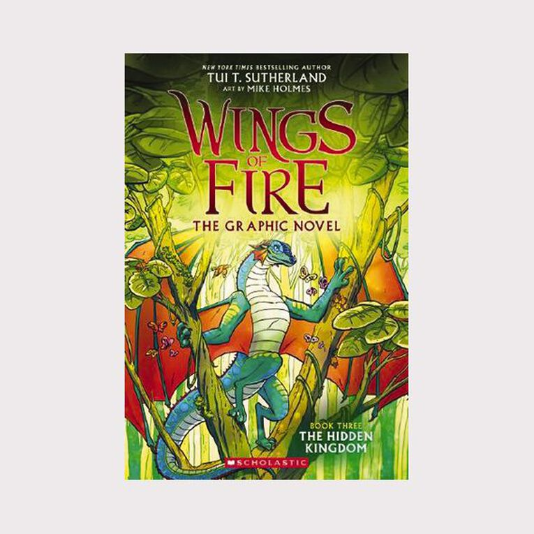 Wings of Fire Graphic #3 Hidden Kingdom by Tui T Sutherland, , hi-res