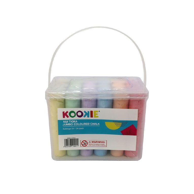 Kookie Jumbo Sidewalk Chalk 24 Pack, , hi-res