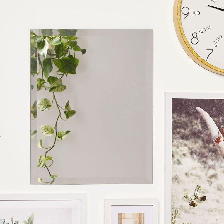 Living & Co Frameless Everyday Mirror 40cm x 50cm, , hi-res