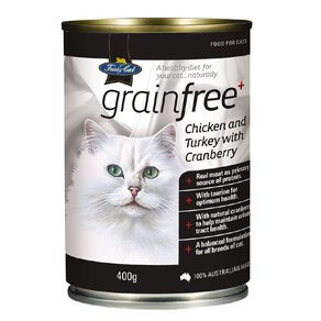 Fussy Cat Grain-Free Chicken and Turkey with Cranberry 400g