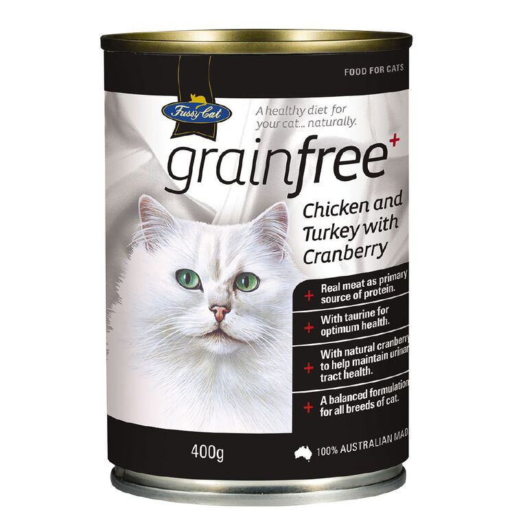 Fussy Cat Grain-Free Chicken and Turkey with Cranberry 400g, , hi-res