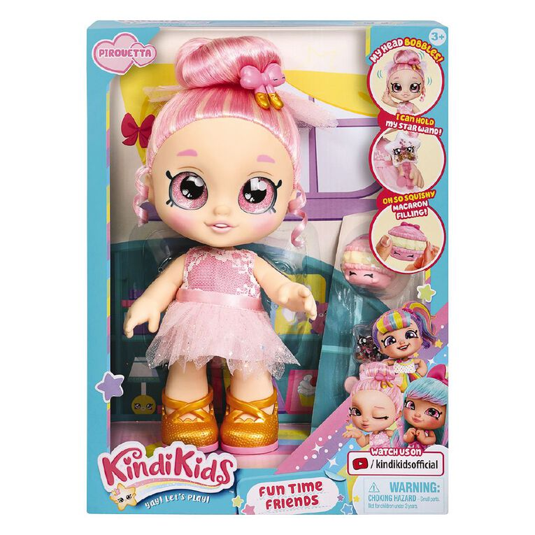Kindi Kids Series 4 Fun Time Pirouetta, , hi-res