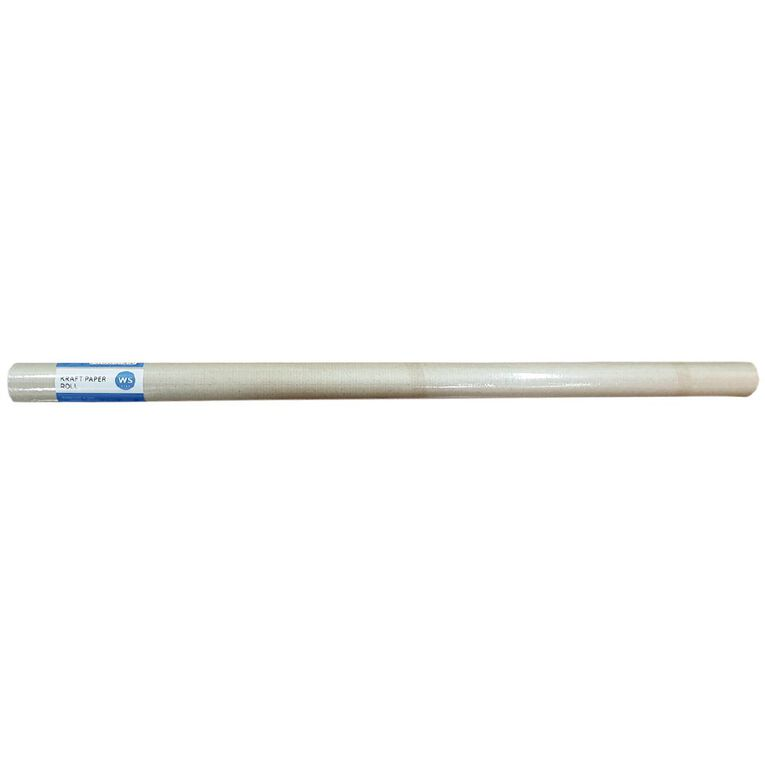 WS Enviro Kraft Paper Roll 600mm X 5m Brown 70gsm, , hi-res