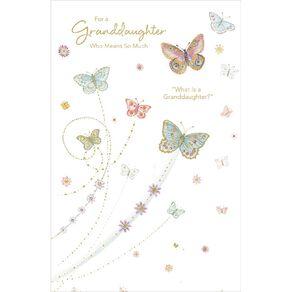 John Sands Female Relation Card Butterflies