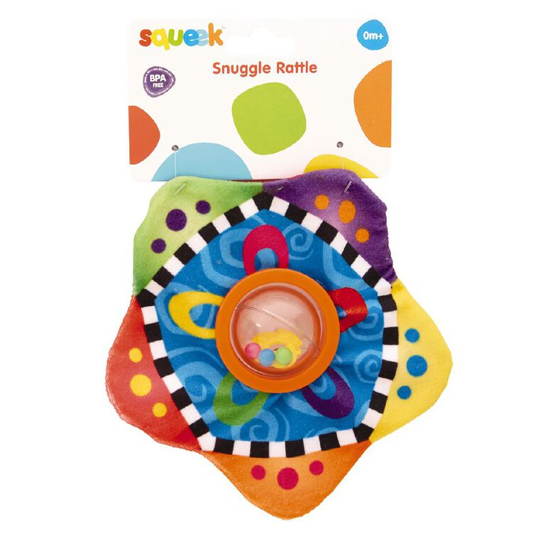 Squeek Snuggle Rattle, , hi-res