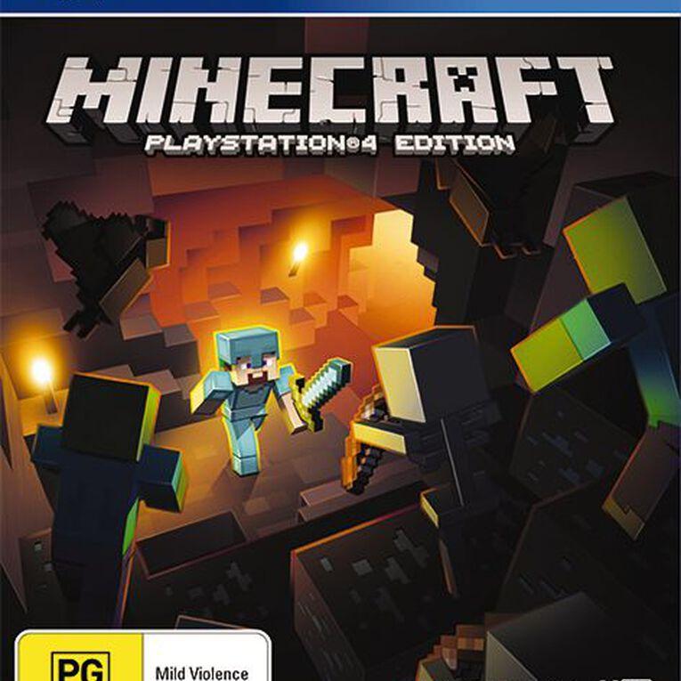 PS4 Minecraft, , hi-res