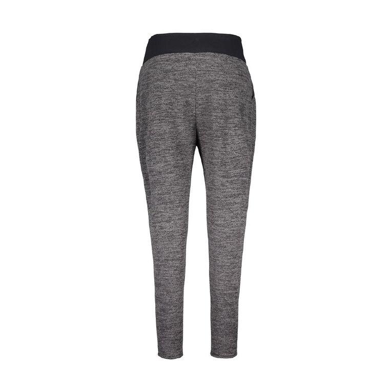 H&H Maternity Knit Harem Pants, Charcoal, hi-res