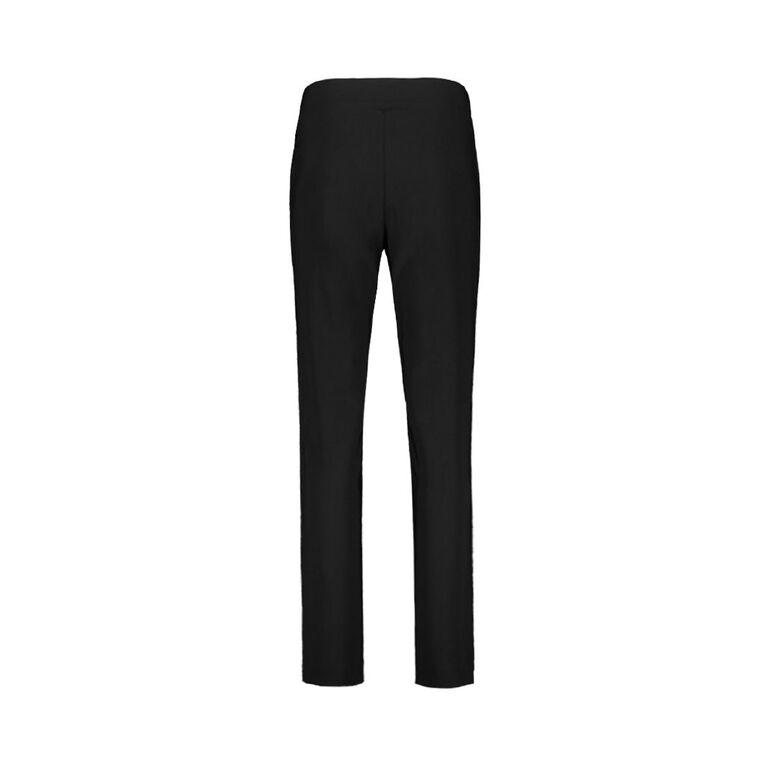 Maya Straight Pull On Bengaline Pants, Black, hi-res image number null