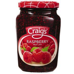 Craig's Raspberry Jam 375g