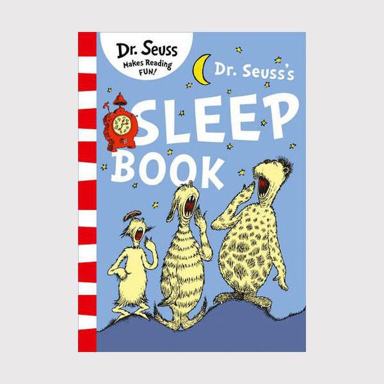 Dr Seuss Sleep Book by Dr Seuss, , hi-res