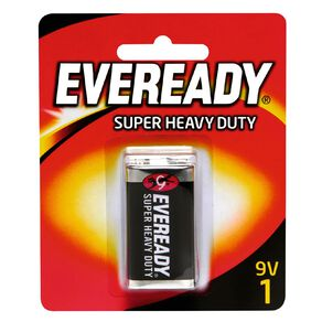 Eveready Super Heavy Duty Battery 9 Volt