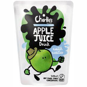 Charlie's Kids Apple Juice 200ml