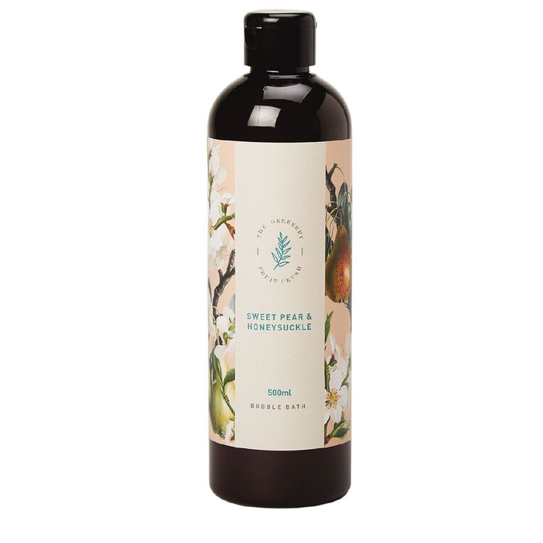 Winter Fruit Sweet Pear And Honey Suckle Bubble Bath 500ml, , hi-res