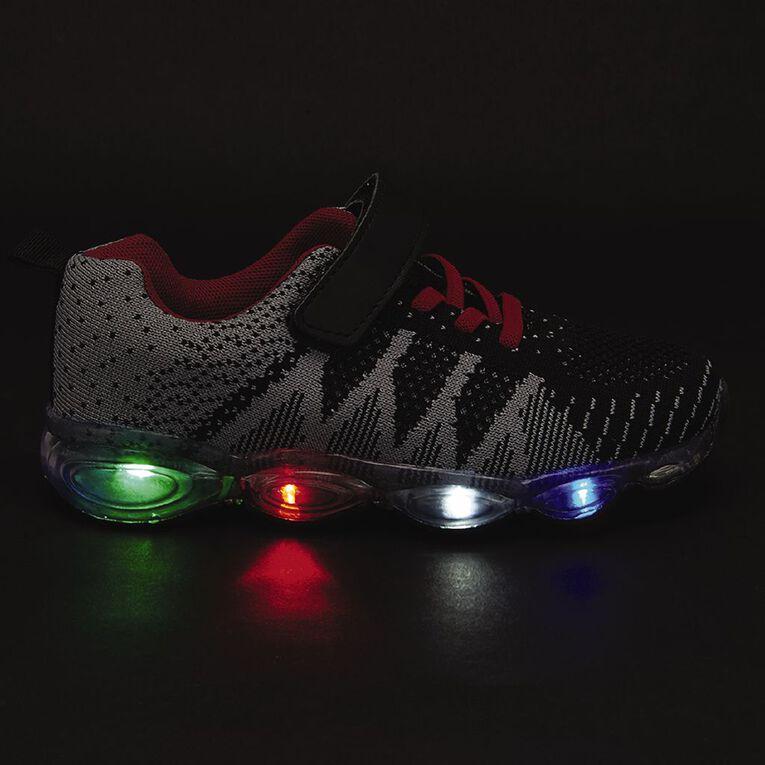Active Intent Kids' Tavor Light Up Shoes, Grey, hi-res