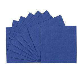 Party Inc Napkins 30cm Royal Blue 50 Pack