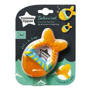 Tommee Tippee Coolfish Teether 4 Month Plus Assorted