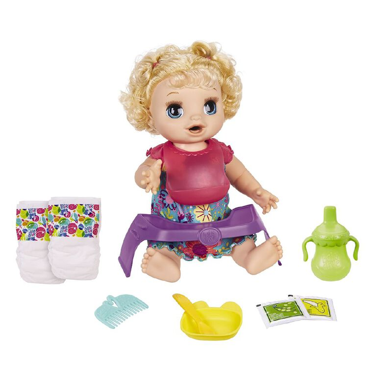 Baby Alive Blonde Happy Hungry Baby, , hi-res
