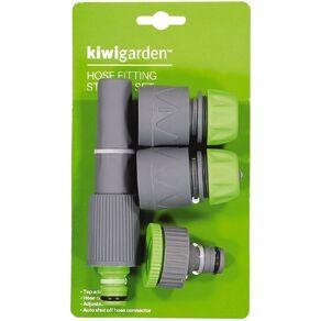 Kiwi Garden Hose Fitting Starter Set 4 Pack