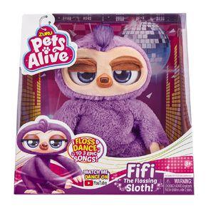 Zuru Pets Alive Fifi Flossing Sloth