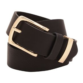 H&H Women's Metal Buckle Belt