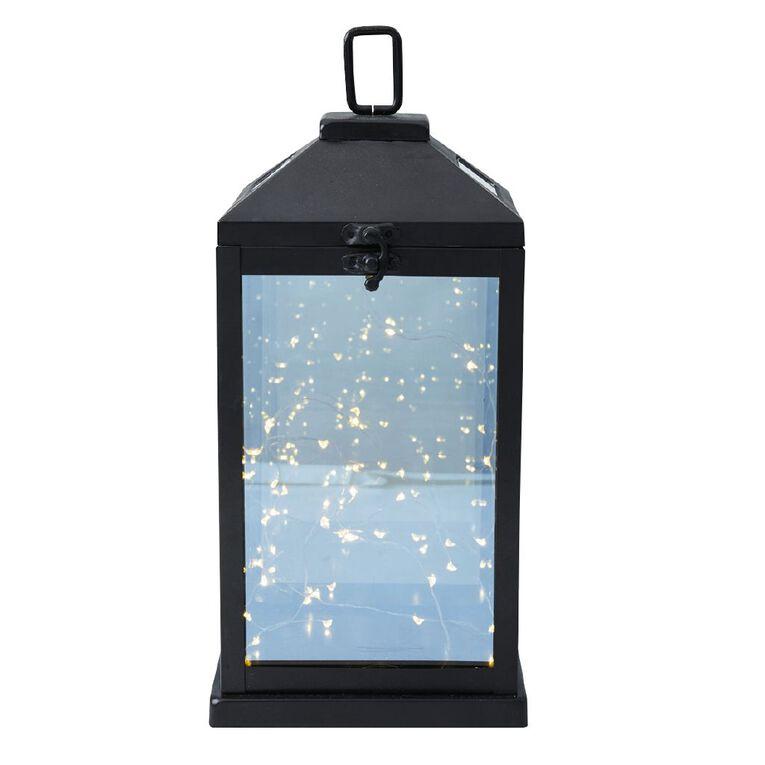 Kiwi Garden Metallic Chamber Solar String Light 20cm, , hi-res