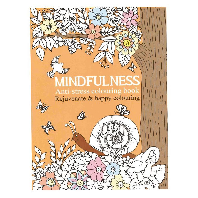 Mindfulness Colouring Book, , hi-res