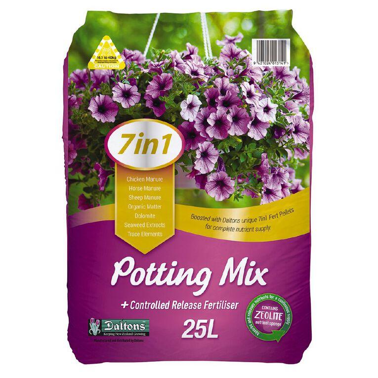 Daltons 7-in-1 Potting Mix 25L, , hi-res
