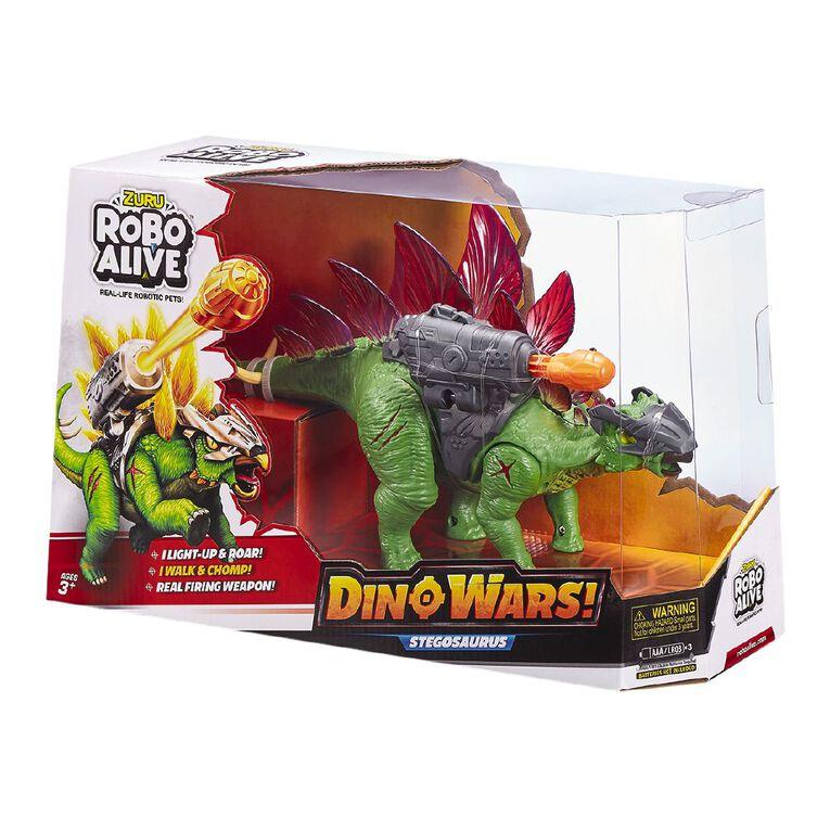 Zuru Robo Alive Dino Wars Series 1 Stegasaurus Assorted, , hi-res