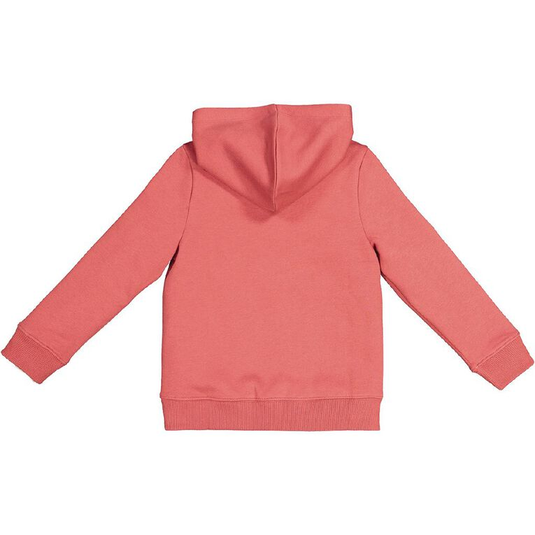 Young Original Pullover Hooded Print Sweatshirt, Red Mid, hi-res