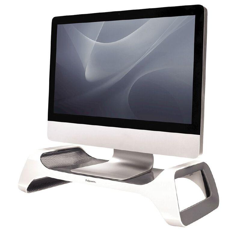 Fellowes I-Spire Monitor Stand White, , hi-res