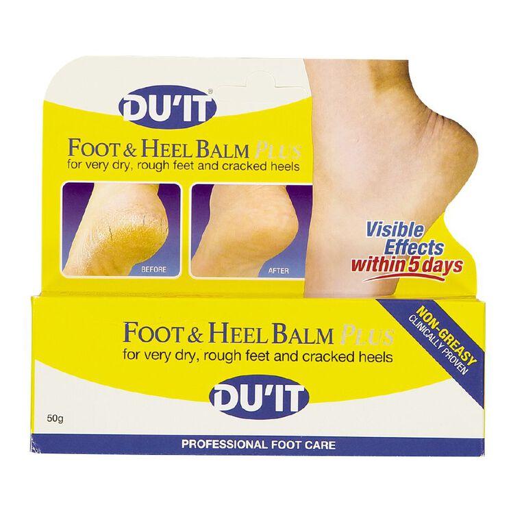 DU'IT Foot & Heel Balm Plus 50g, , hi-res