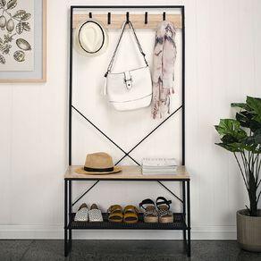 Living & Co Hallway Storage Rack