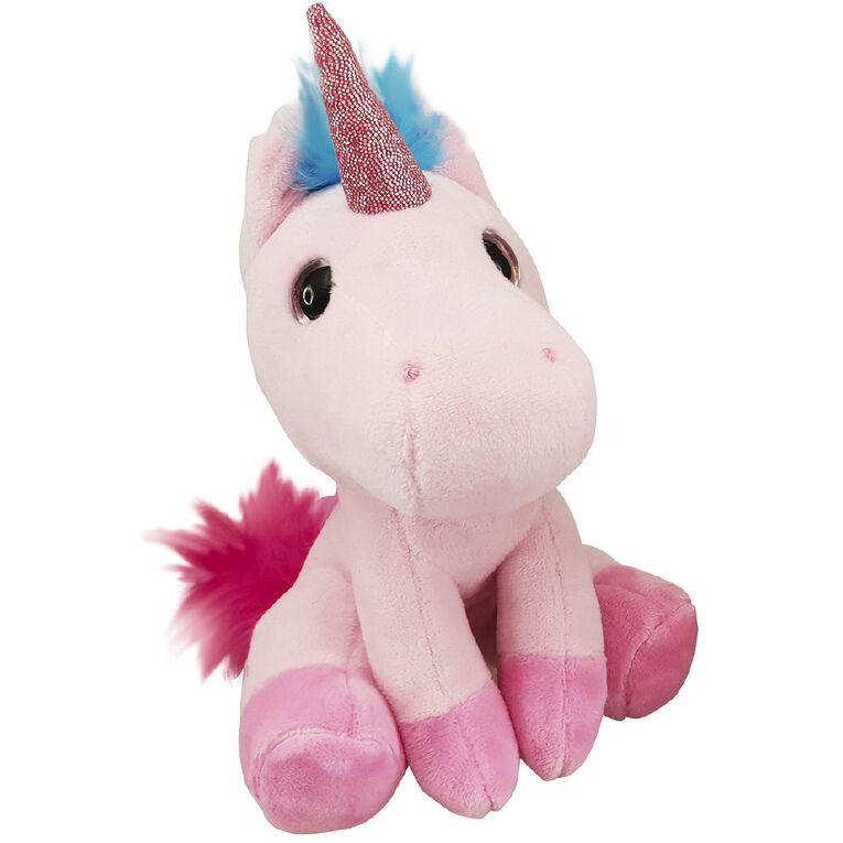 Antics Unicorn Sitting Plush Exclusive Assorted 15cm, , hi-res