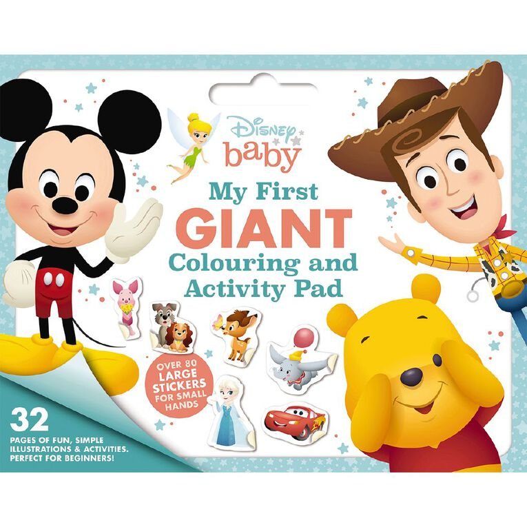 Disney Baby: My First Giant Colouring & Activity Pad, , hi-res
