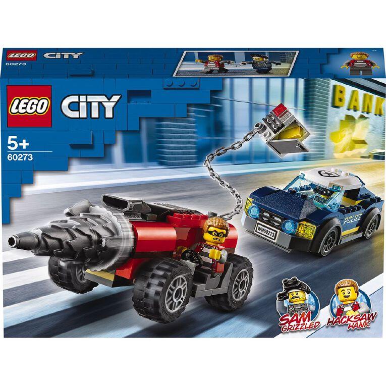 LEGO City Elite Police Driller Chase 60273, , hi-res