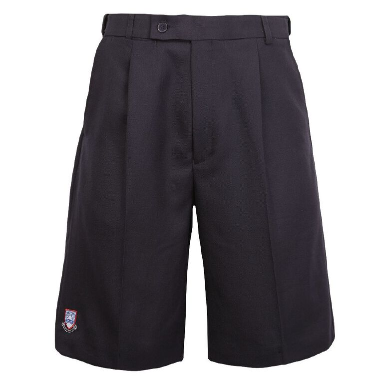 Schooltex One Tree Hill Boys' Shorts with Embroidery, Ink, hi-res