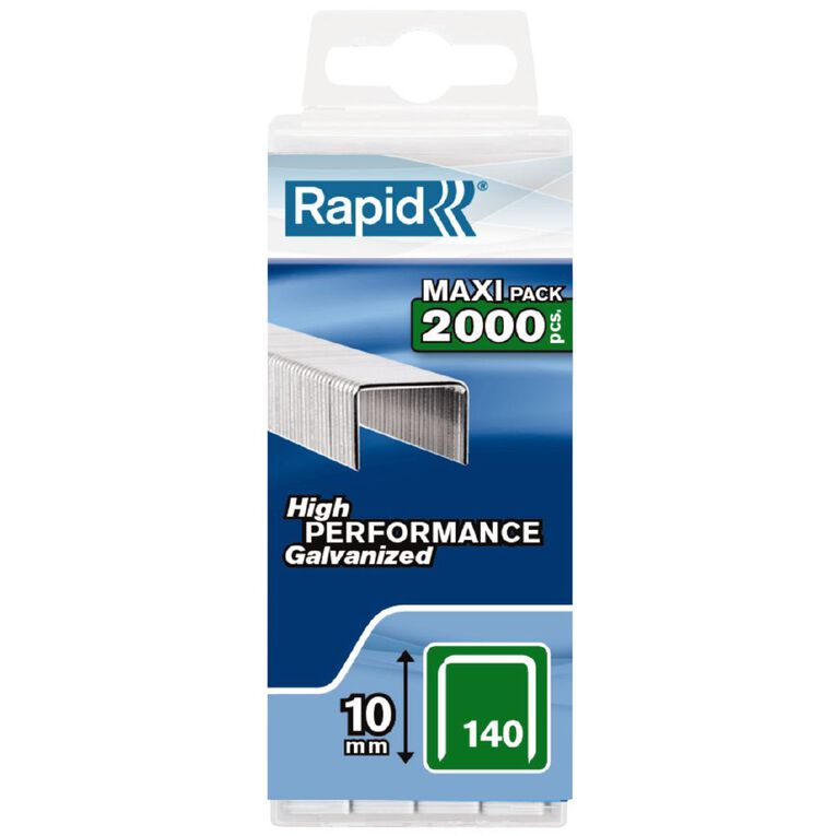 Rapid 2000 Pack of Staples Size 140/10, , hi-res