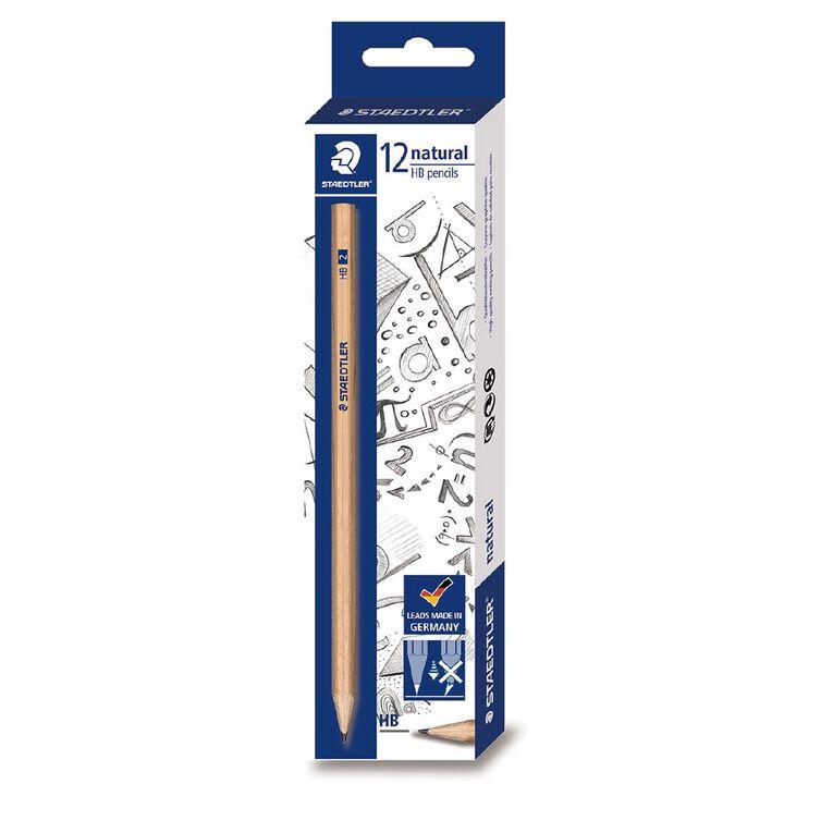 Staedtler Natural 130 60N Graphite Pencil HB - Box 12, , hi-res