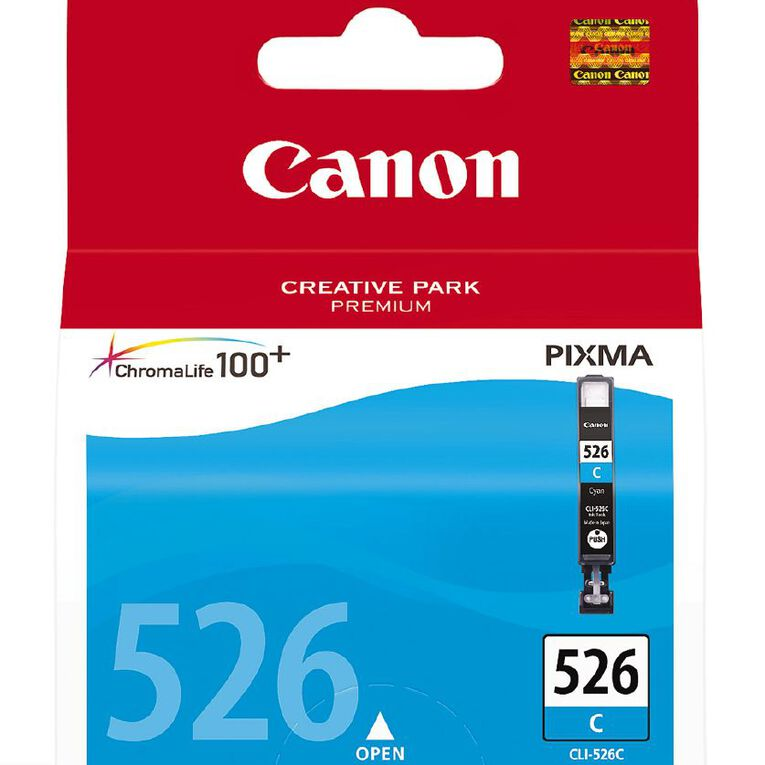 Canon Ink CLI526 Cyan (500 Pages), , hi-res