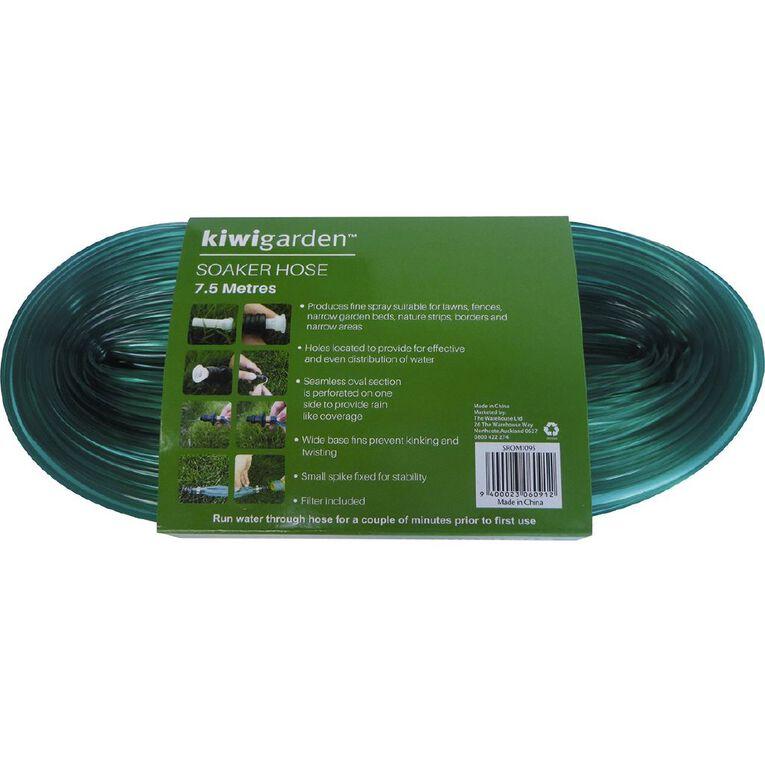 Kiwi Garden Soaker Hose Green 7.5m, , hi-res