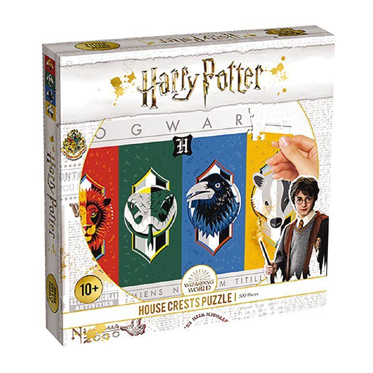 Harry Potter House Crest 500 Piece Puzzle, , hi-res