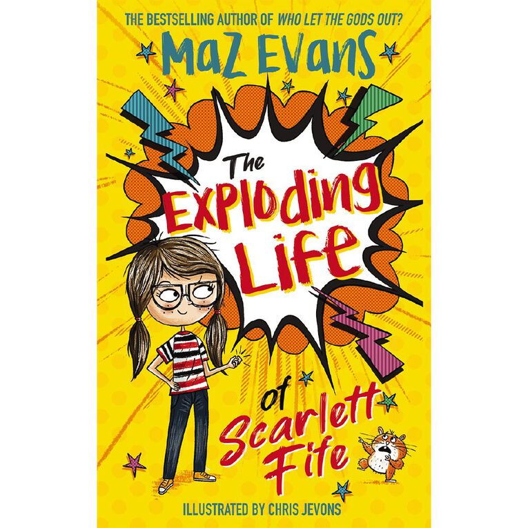 The Exploding Life of Scarlett Fife by Maz Evans, , hi-res