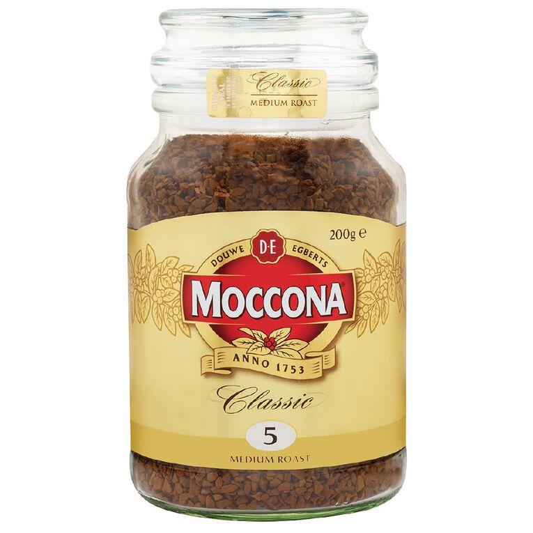 Moccona Classic Medium Roast Jar 200g, , hi-res