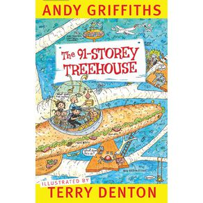 The 91-Storey Treehouse by Andy Griffiths & Terry Denton