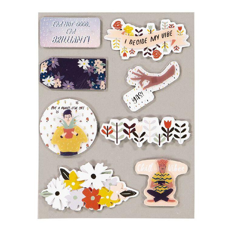 Uniti Empowerment Dimensional Stickers, , hi-res