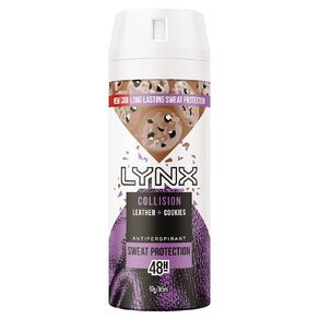 Lynx Antiperspirant Deodorant Leather & Cookies 165ml