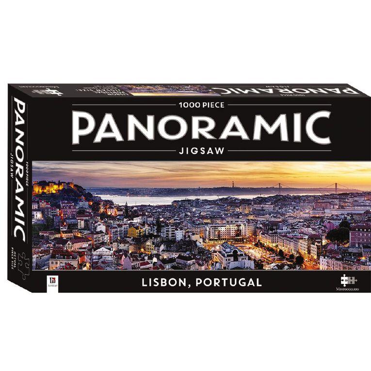 Hinkler Mindbogglers Panoramic 1000piece Lisbon, , hi-res