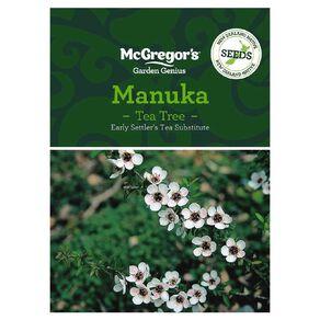 McGregor's Manuka NZ Native Seed