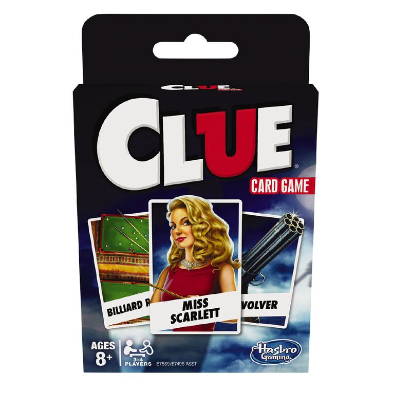 Classic Card Games Clue, , hi-res